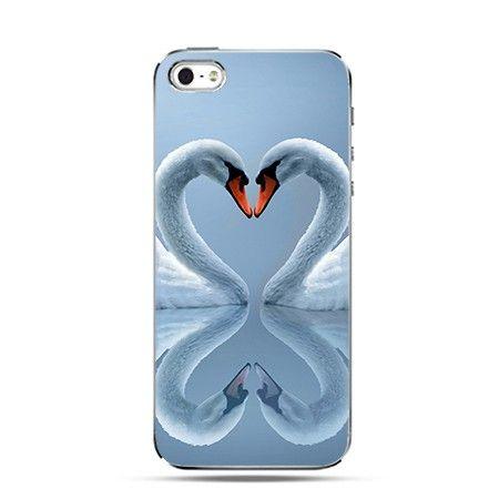 Etui dwa serca iPhone 4 , 4s