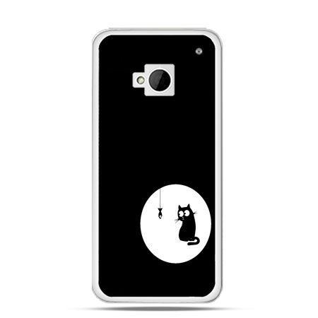 Etui na HTC One M7 kotek