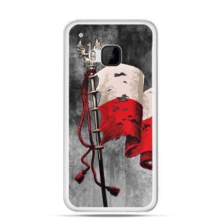 Etui na telefon HTC One M9 patriotyczne - flaga Polski
