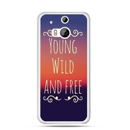 Etui na HTC One M8 Young wild and free