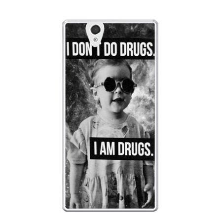 Etui na Xperia Z I don`t do drugs I am drugs