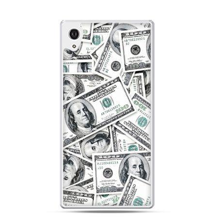Xperia Z1 etui dolary banknoty