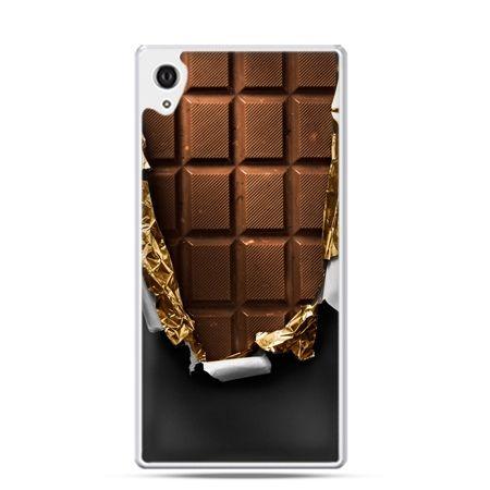Xperia Z1 etui czekolada