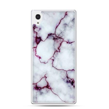 Xperia Z2 etui różowy marmur