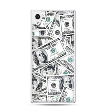 Xperia Z2 etui dolary banknoty