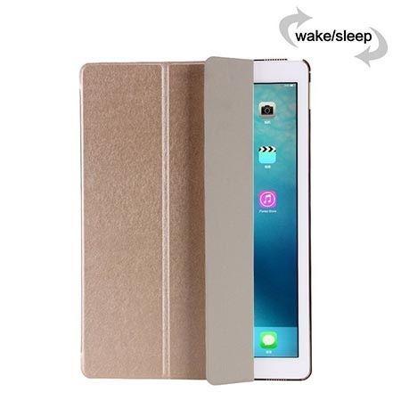 Etui na iPad Air 2 Silk Smart Cover z klapką - złote.