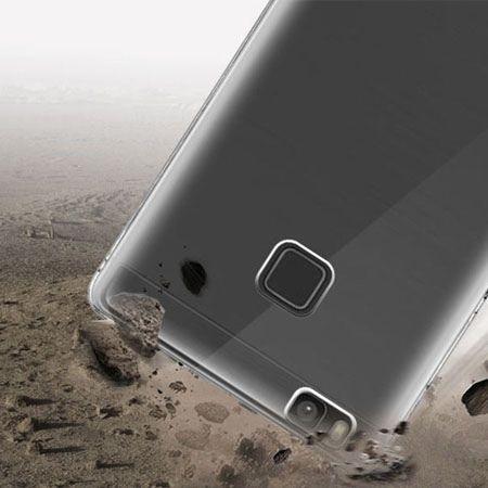 Huawei P9 Lite silikonowe etui przezroczyste crystal case.