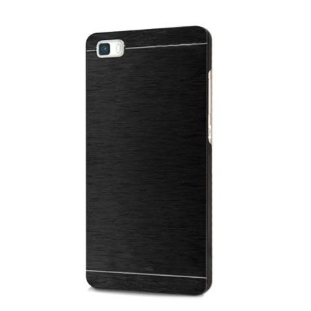 Huawei P8 etui Motomo aluminiowe czarne.