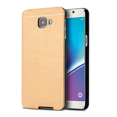 Galaxy A5 (2016) A510 etui Motomo aluminiowe złote.