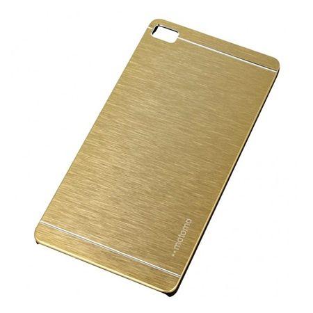 Huawei P8 etui Motomo aluminiowe złote.