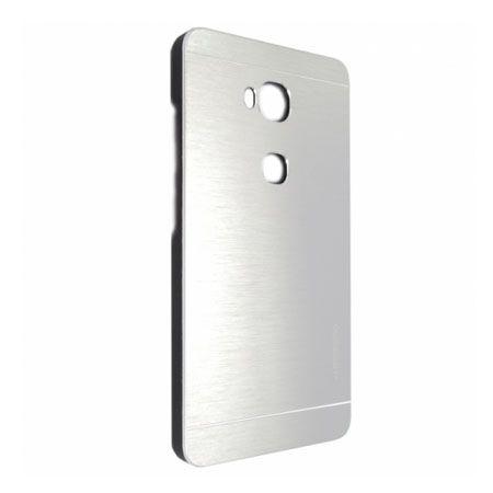 Huawei Honor 5X etui Motomo aluminiowe srebrne.