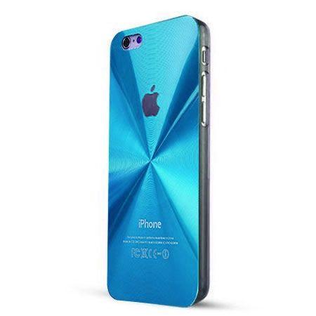 iPhone 6 PLUS niebieskie plecki aluminiowe efekt cd