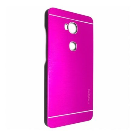 Huawei Honor 5X etui Motomo aluminiowe różowe.