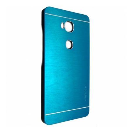Huawei Honor 5X etui Motomo aluminiowe niebieskie.