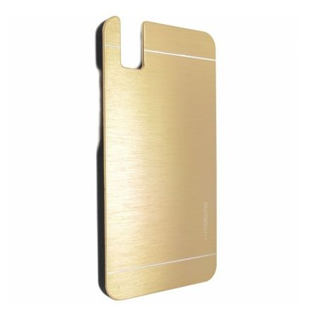 Huawei Honor 7i / ShotX etui Motomo aluminiowe złote.