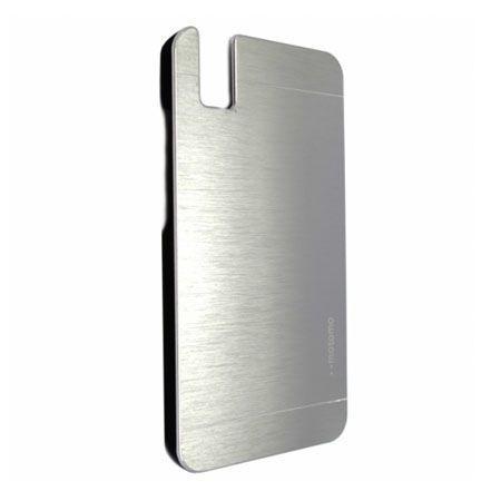 Huawei Honor 7i / ShotX etui Motomo aluminiowe srebrne.