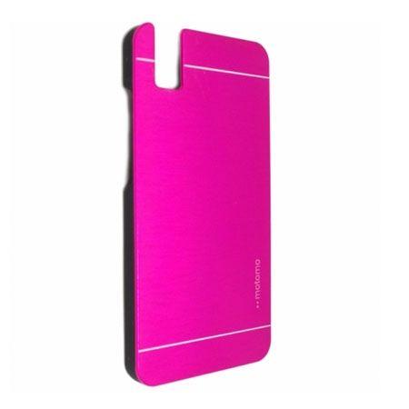 Huawei Honor 7i / ShotX etui Motomo aluminiowe różowe.