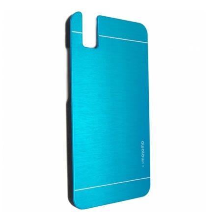 Huawei Honor 7i / ShotX etui Motomo aluminiowe niebieskie.