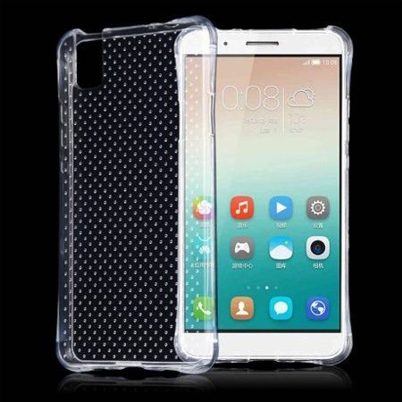 Huawei Honor 7i / ShotX silikonowe etui przezroczyste crystal case Air-Shock Corner.