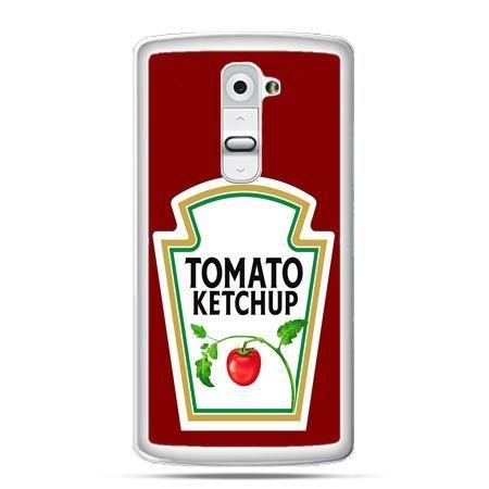 Etui na telefon LG G2 ketchup