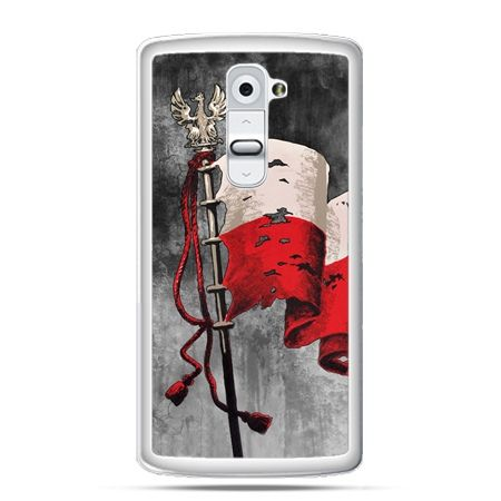 Etui na telefon LG G2 patriotyczne - flaga Polski