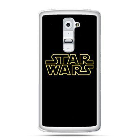 Etui na telefon LG G2 Star Wars złoty napis