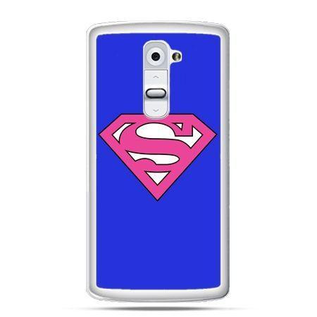 Etui na telefon LG G2 Supergirl
