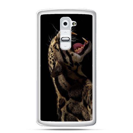 Etui na telefon LG G2 lampart