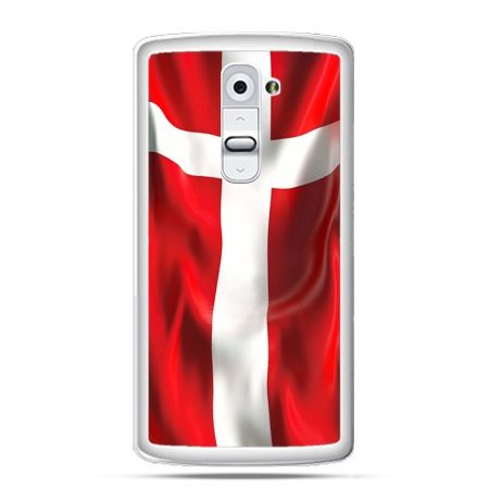 Etui na telefon LG G2 flaga Danii