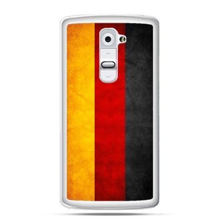 Etui na telefon LG G2 flaga Niemiec