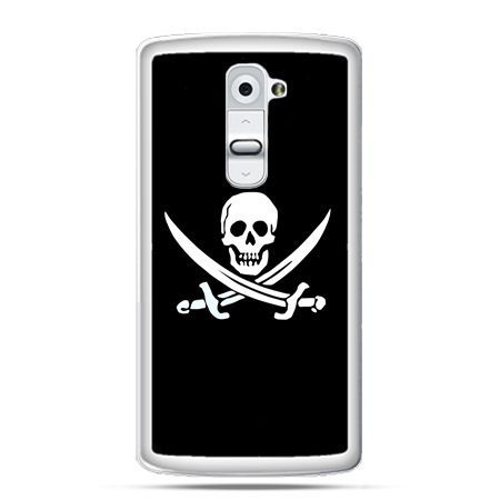 Etui na telefon LG G2 flaga piracka Jolly Roger