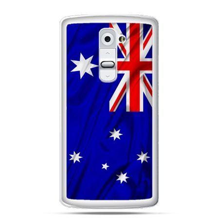 Etui na telefon LG G2 flaga Australi