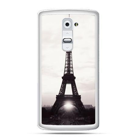 Etui na telefon LG G2 Wieża Eiffla
