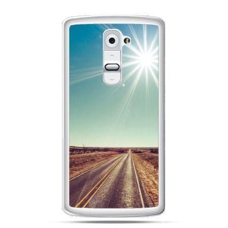 Etui na telefon LG G2 słoneczna autostrada