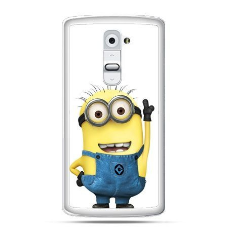 Etui na telefon LG G2 wesoły minionek ,minionki
