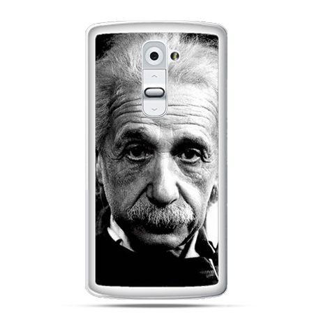 Etui na telefon LG G2 Albert Einstein