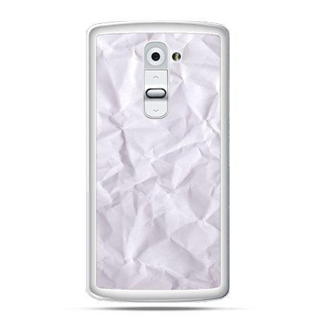 Etui na telefon LG G2 pomięty papier