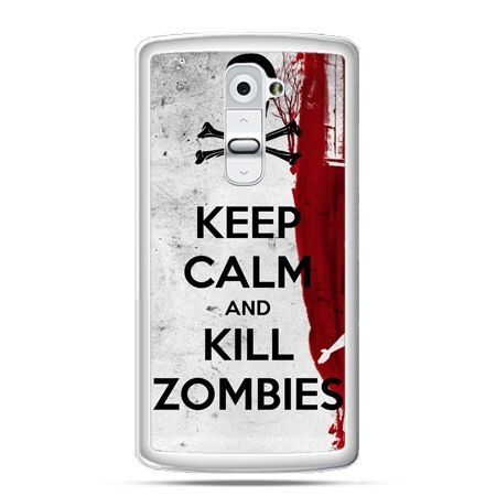 Etui na telefon LG G2 Keep Calm and Kill Zombies