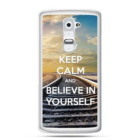 Etui na telefon LG G2 Keep Calm and Believe in Yourself