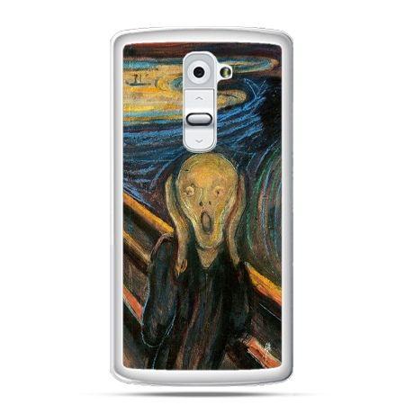 Etui na telefon LG G2 Krzyk Munka