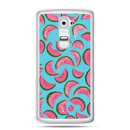 Etui na telefon LG G2 arbuzy