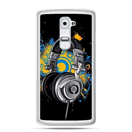 Etui na telefon LG G2 słuchawki
