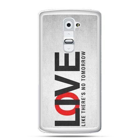 Etui na telefon LG G2 LOVE LIVE