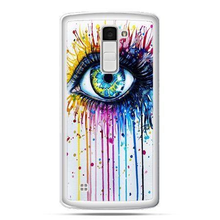 Etui na telefon LG K10 kolorowe oko