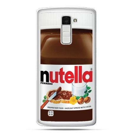 Etui na telefon LG K10 Nutella czekolada słoik