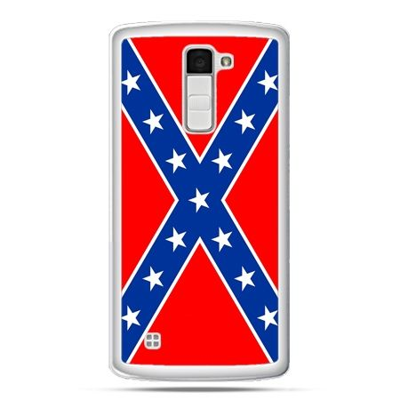 Etui na telefon LG K10 flaga konfederacji