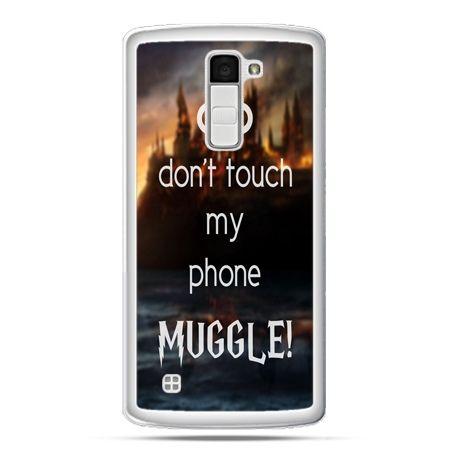 Etui na telefon LG K10 Don`t touch ..Muggle harry Potter