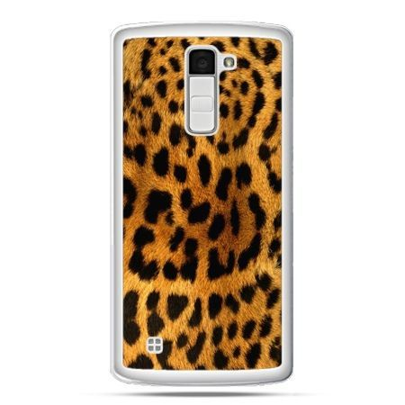 Etui na telefon LG K10 skóra lamparta