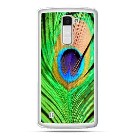 Etui na telefon LG K10 pawie oko