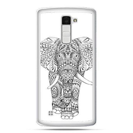 Etui na telefon LG K10 Indyjski słoń